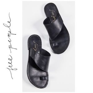 FREE PEOPLE | San Antoni Slide in Ink Black